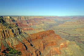 picture of pima  - Panoramic View for the Grand Canyon from Pima Point - JPG