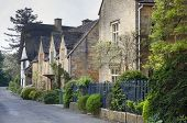 Row of Cotswold Cottages