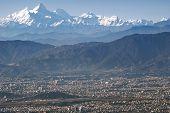 Mt. Manaslu And Kathmandu Valley