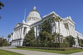 picture of mandates  - A View of Capitol Building in Sacramento - JPG