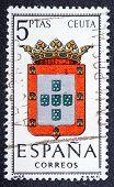 Arms Of Provincial Capitals Shows Ceuta
