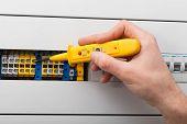 Voltage Measurement On Switchboard