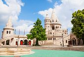 Beautiful Fisherman's Bastion in Budapest