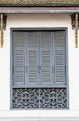 Old Thai  Style Window