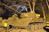 Soviet medium tank T-34-85 Model 1944