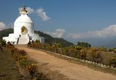 White Stupa Of Pokhara
