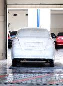 Washing Car At Car-wash Service