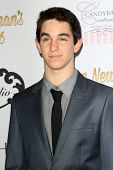 LOS ANGELES - APR 27:  Zachary Gordon at the Ryan Newman's Glitz and Glam Sweet 16 birthday party at