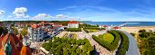 Panoramic View Of Sopot City, Poland.