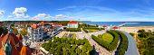 Panoramic View Of Sopot City, Poland.