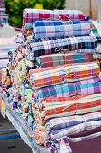 pic of loincloth  - Loincloth rolling for sale in local market - JPG