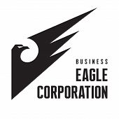 Eagle Corporation - Logo Sign in Classic Graphic Style