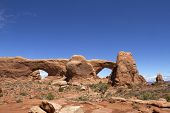 North Window Arch in Arches National Park