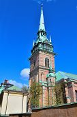 Stockholm. German Church