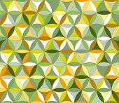 Flower Of Life Seamless Pattern Autumn