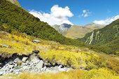 Fabulous Landscape In New Zealand