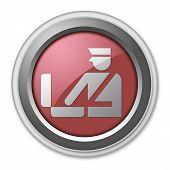 Icon, Button, Pictogram Customs
