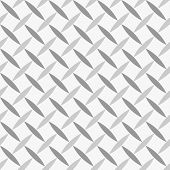 Seamless Geometric Pattern Diagonal Seeds Grey