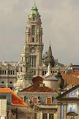 Clerigos Church (igreja Dos Clerigos), Porto, Douro Province, Portugal