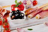 pic of antipasto  - italian appetizer  - JPG