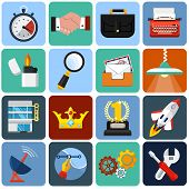 Flat Icons for Web and Application 1