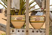 Two Earthenware Pots
