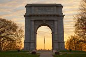 National Memorial Arch At Sunrise