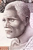 GHANA - CIRCA 1980: Oil man on 50 Cedis 1980 Banknote from Ghana