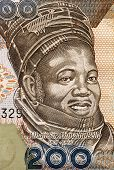 NIGERIA - CIRCA 2011: Ahmadu Bello (1909-1966) on 200 Naira 2011 Banknote from Nigeria. Nigerian politician.