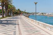 Promenade In Lagos, Algarve, Portugal