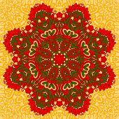 Arabesque. Decorative element.