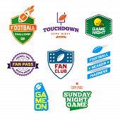 Football Themed Badges