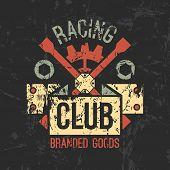 Car Racing Club Emblem