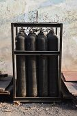 The Gas tanks for steel industry
