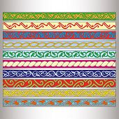 ribbon motif Tatars