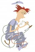 Electrician Illustration