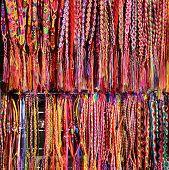 Handcrafts Belts And Bracelets Mexican Souvenirs