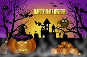 Halloween Scary Night Background