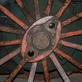 Wheel Of Traction Engine