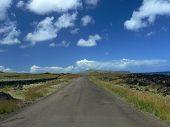 Highway On Easter Island