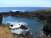 Wild Volcanic Southwest Coast Of Easter Island