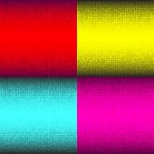 Set of Abstract Colorful Technology Backgrounds