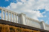 pic of bannister  - Architectural detail structure on the waterfront in Sevastopol. Crimea