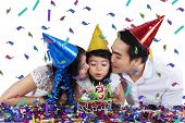 Togetherness Of Family In Birthday Party