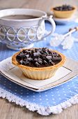 Tartlet With Chocolate
