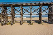 The Pudding Creek Trestle in Fort Bragg, California