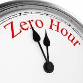 Zero Hour On A Clock