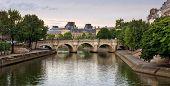 Paris - Seine River And Landmarks