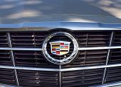 Cadillac Grille And Logo