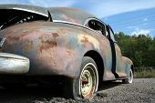 Old 40's car